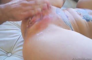 Большой хер подарил Anna Bell Peaks классный оргазм